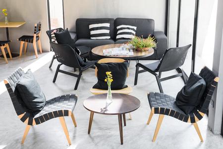 interior room: Contemporary living room loft interior , modern room
