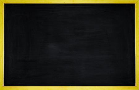 rubbed out on blackboard for background , empty blackboard frame backgrounds