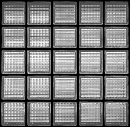 Pattern of glass block wall backgrounds , black and white background