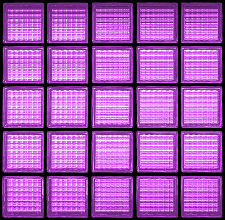 Pattern of glass block wall backgrounds , purple background