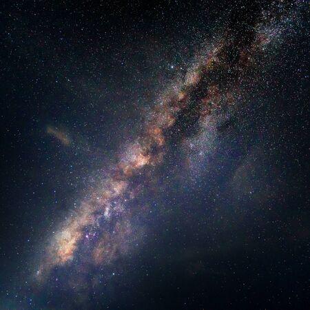 Beautiful with Milky Way background Stok Fotoğraf