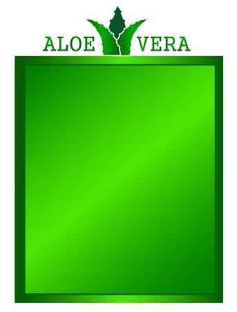 aloe: aloe vera frame