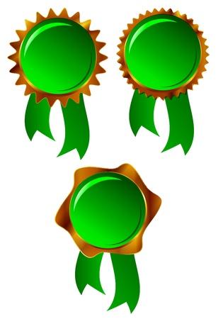 녹색 프레임 일러스트