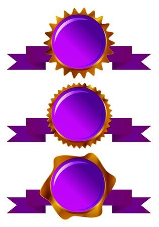 purple frame Vector