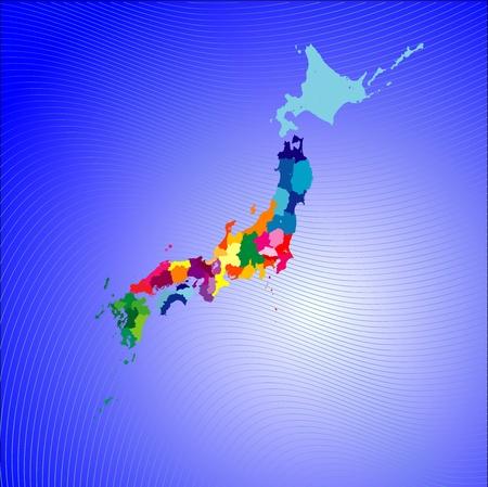shikoku: map of japan