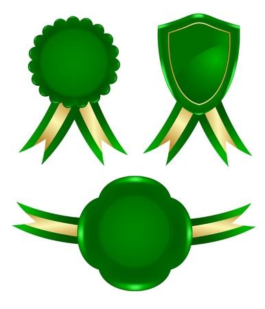 green frame Vector