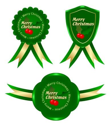 mon 12: green christmas frame