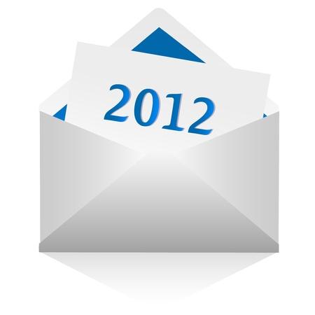 2012 E-mail Vector