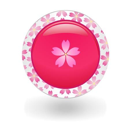 material flower: Icon of Sakura