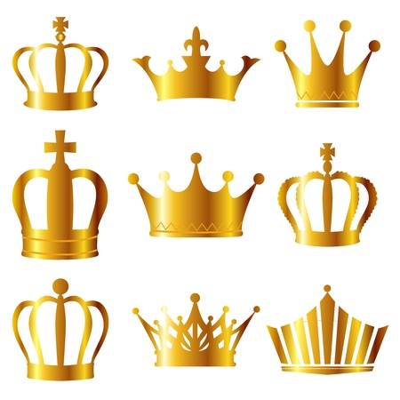 crown background: Crown Illustration