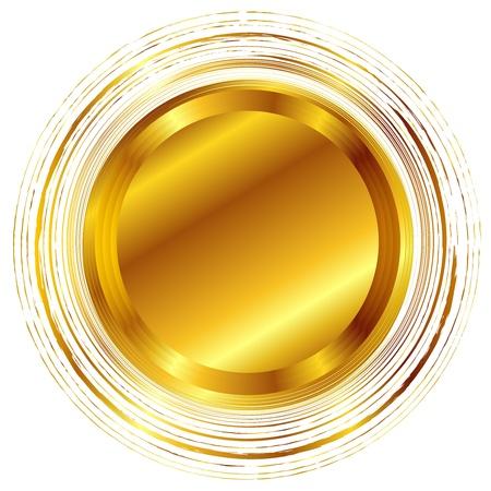 ゴールド  イラスト・ベクター素材