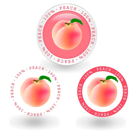 peach Stock Vector - 12776481