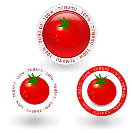 tomato Stock Vector - 12776482