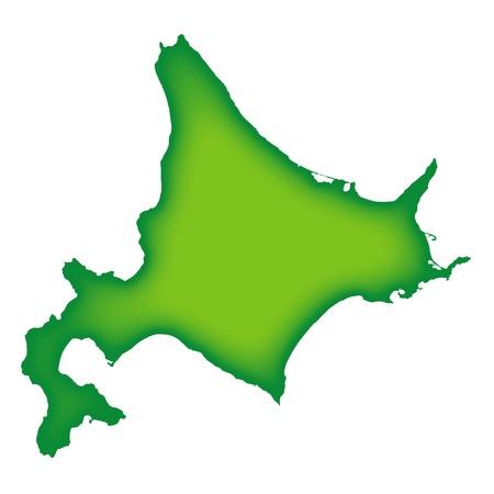 plateau: Hokkaido Illustration