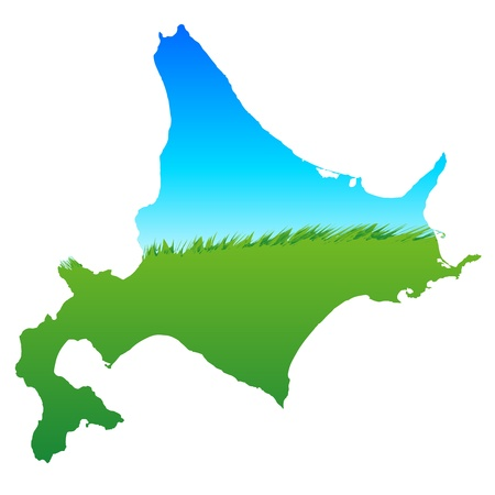 Hokkaido Stock Vector - 13093467