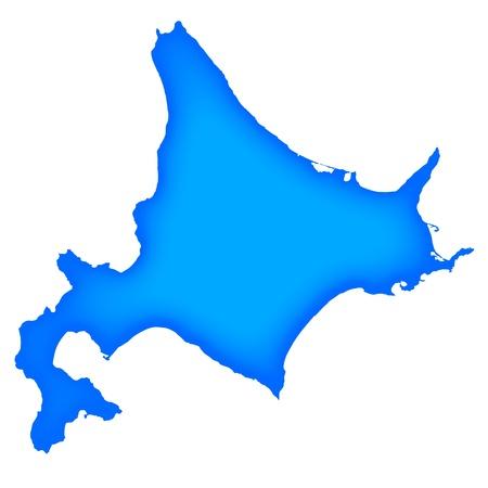 Hokkaido Illustration