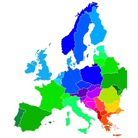 mapa de europa: Europa