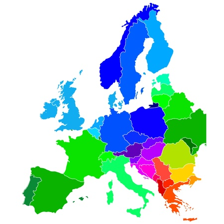 map of netherlands: europe