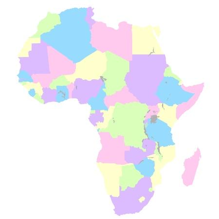 아프리카의지도
