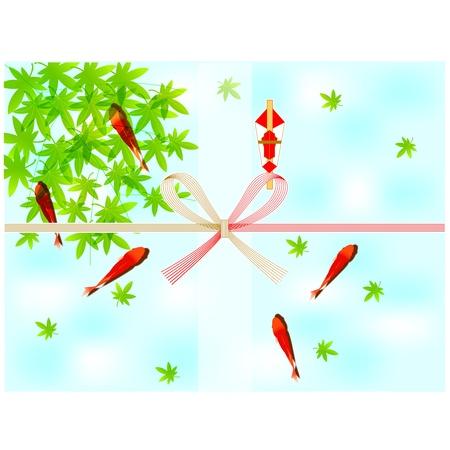 wakaba: goldfish Illustration