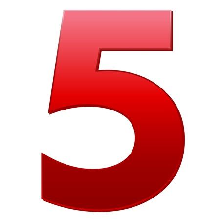 number five: 5