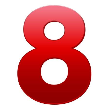 number 8: 8