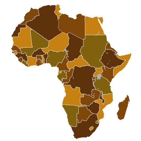 Africa Stock Vector - 13955896