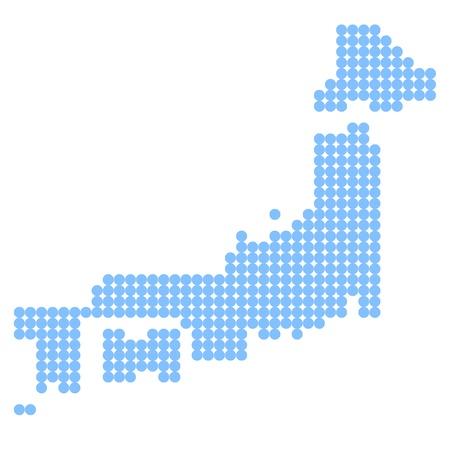 kyushu: japan Illustration