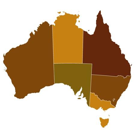 map of australia: Australia map