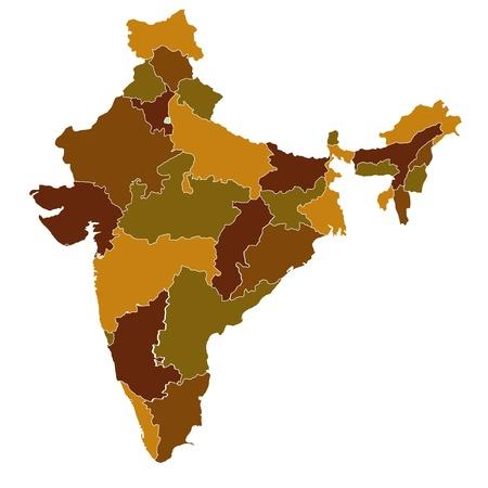 india map: india