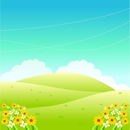 plateau: Landscape Illustration