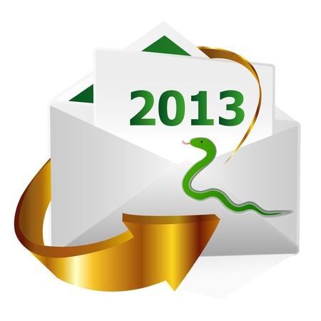 2013 Stock Vector - 14244644