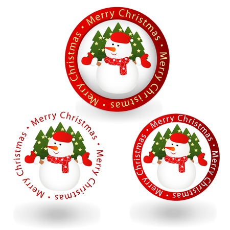 natural logo: christmas