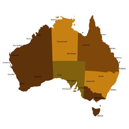 Australia Stock Vector - 14656650