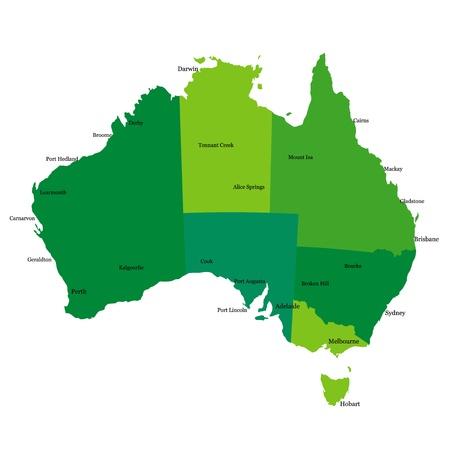 Australia Stock Vector - 14656649