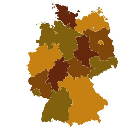 germany map: Germany Illustration