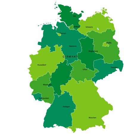 deutschland karte: Deutschland