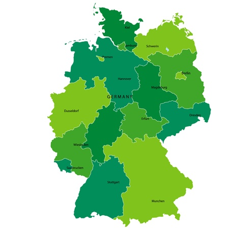 no background: Germany Illustration