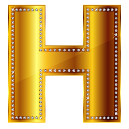 H Stock Vector - 14999133