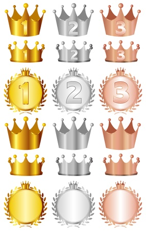 Crown Stock Vector - 15077948