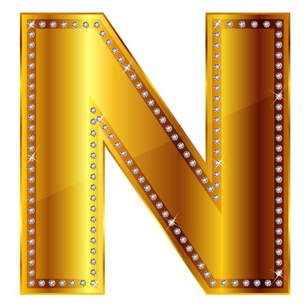 N Stock Vector - 15077944