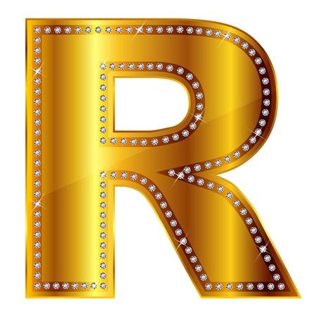 R  イラスト・ベクター素材