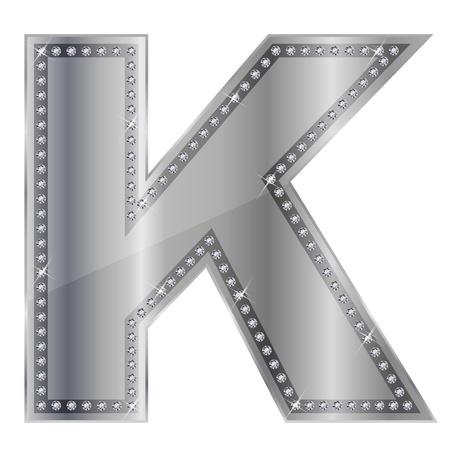 K Stock Vector - 15172275