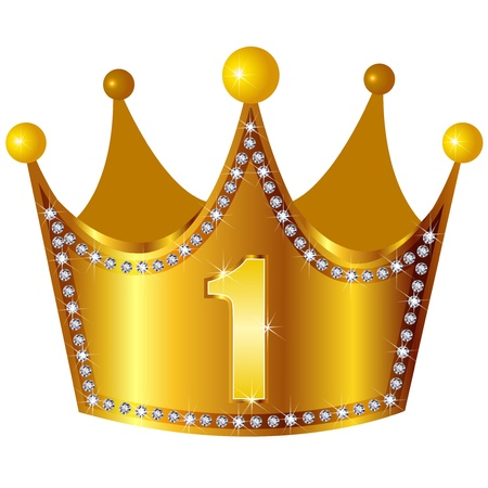 rankings: crown Illustration