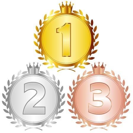 ranking: crown Illustration