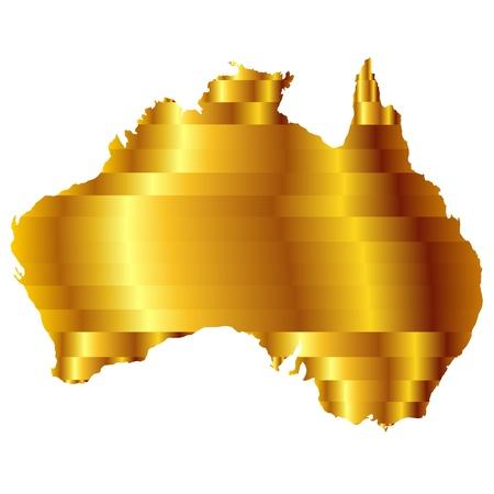 オーストラリア  イラスト・ベクター素材