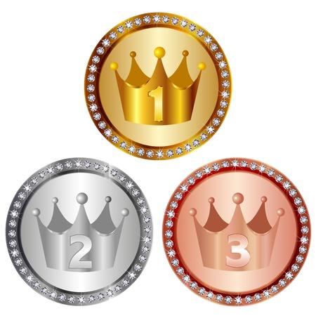 medal Stock Vector - 15814676