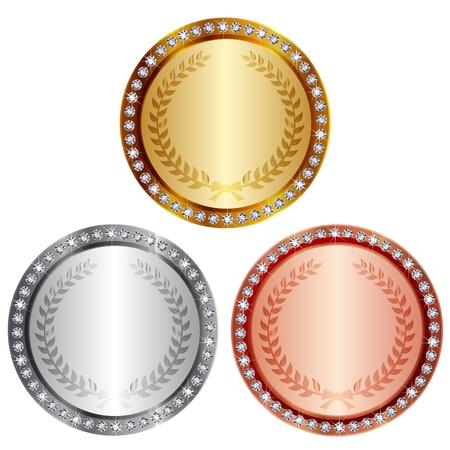 Medaille Vektorgrafik
