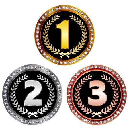 rankings: medal