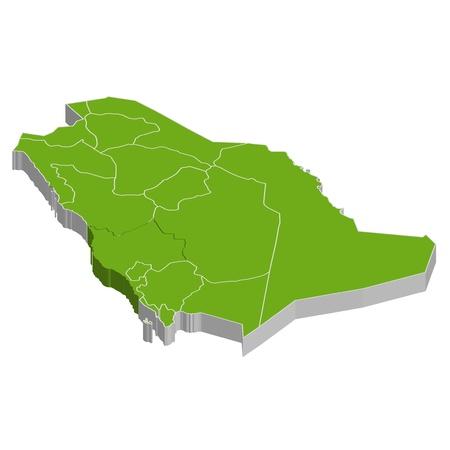 Saudi Arabia Illustration